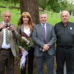 Pan Ryszard Sylka, Pani Joanna Malek, Pan Leszek Waszkiewicz, Ks. Paul Breza